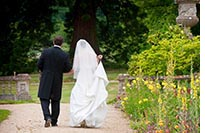 bride garden orchardleigh